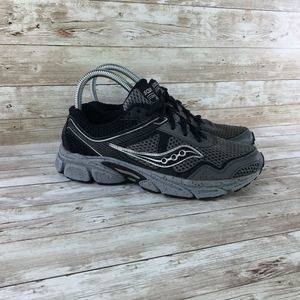 Saucony Cohesion Black Gray Running